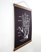 Load image into Gallery viewer, PALMISTRY CHART WALL HANGING