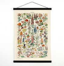 Load image into Gallery viewer, FRENCH BOTANICAL FLOWERS WALL HANGING