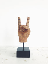 Load image into Gallery viewer, ROCK ON HAND SIGN