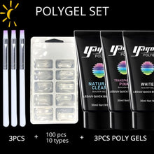 Kit Power Nail Pro - 3P Set-01 - Ongles
