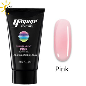 Kit Power Nail Pro - Gel Rose - Ongles