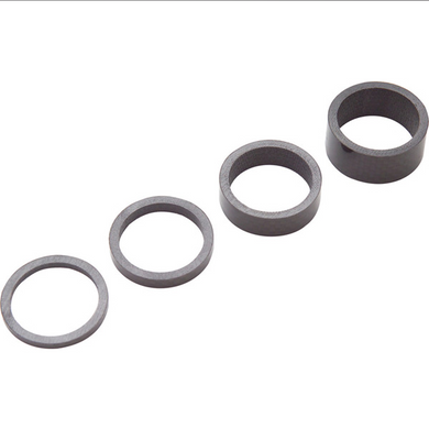 PRO Headset spacers, UD carbon, 3/ 5/ 10/ 15mm, 1-1/4 inch