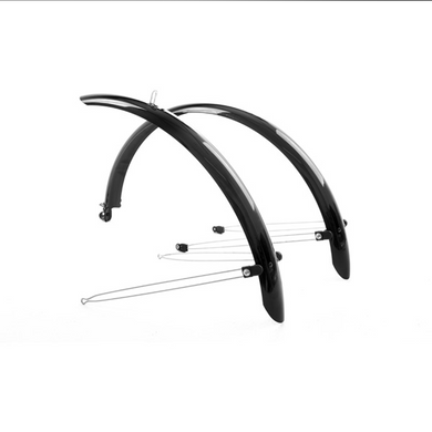M-Part Commute full length mudguards 16 inch x 50mm, black