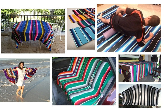 Versatile Mexican Blankets and Rugs