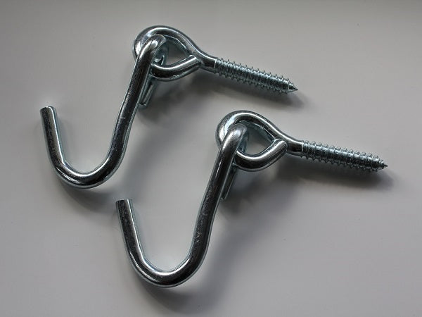 Screw and eye hooks