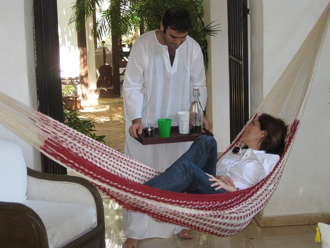 Indoor Mexican hammock