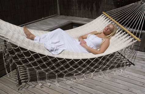 Mexican spreader bar style hammock
