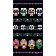 Day of the dead Mexican towel