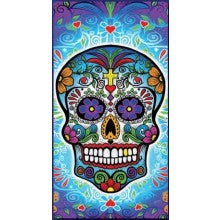 Mexican Skull Towel