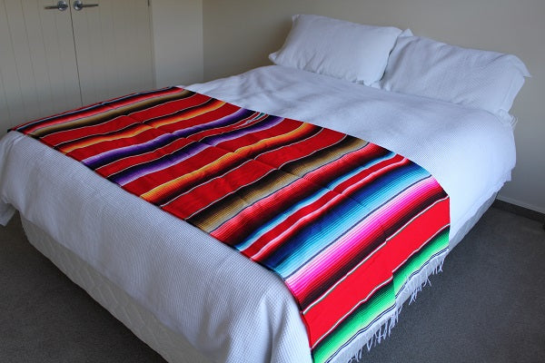 Mexican red blanket