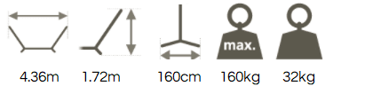 Wooden Hammock Stand Dimensions