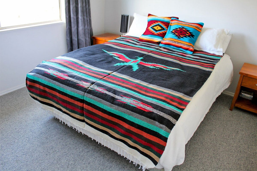 Western Style Blanket - Mexican Made