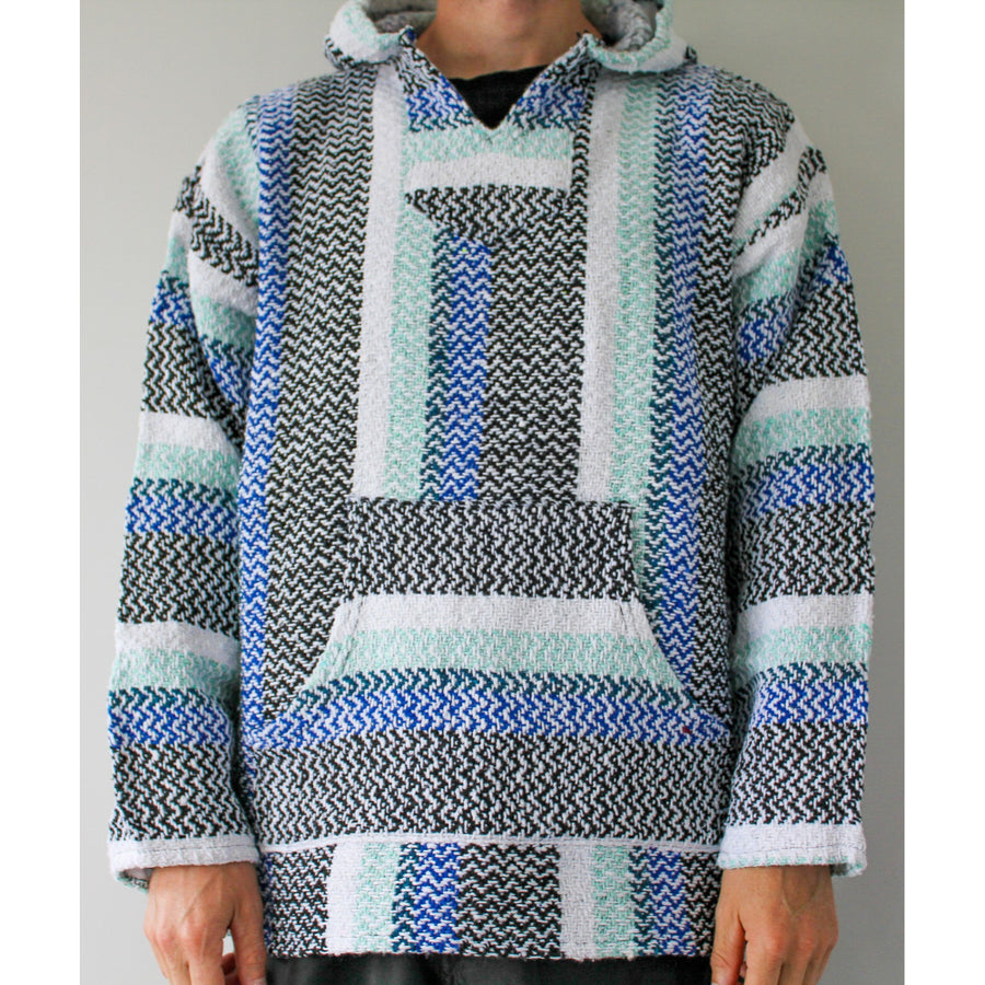 Baja Joe Hoodie - Mexican Made Surf Poncho