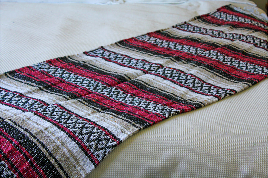 Blanket from Mexico - Stripped Pattern