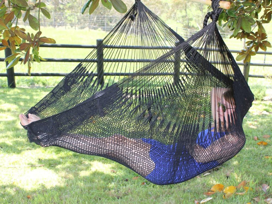 Outdoor Chair Hammock - Black