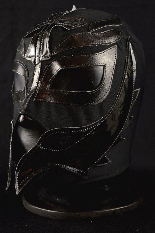 Black Mexican Wrestling Mask - Rey Mysterio
