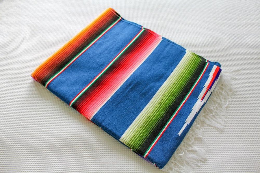 Mexican Yoga Sarape Blanket