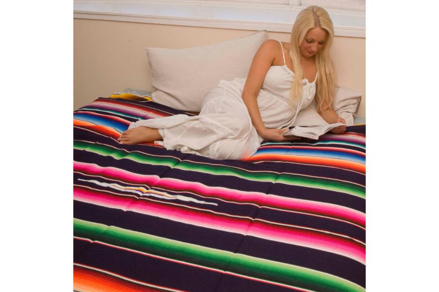 Mexican bedspread cover