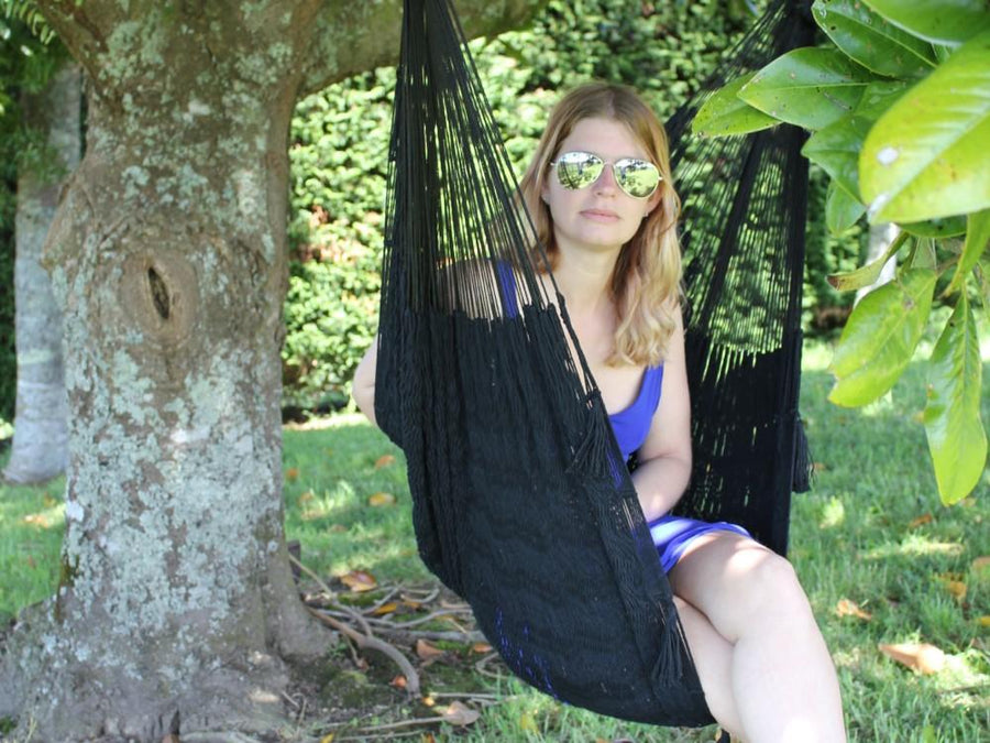 Chair Hammock - Mexican Black Cotton
