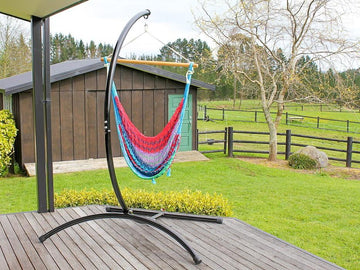 Outdoor chair hammock frame