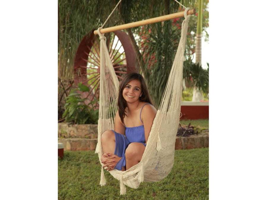 Luxury Chair Hammock - Soft Handwoven Cotton