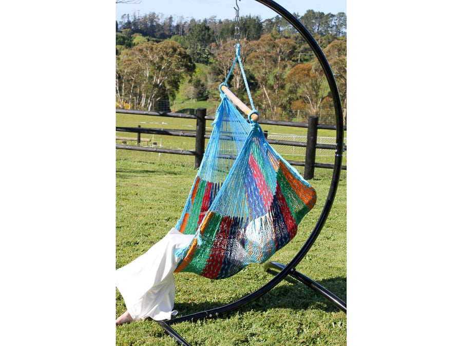 Woven Cotton Hanging Hammock Chair