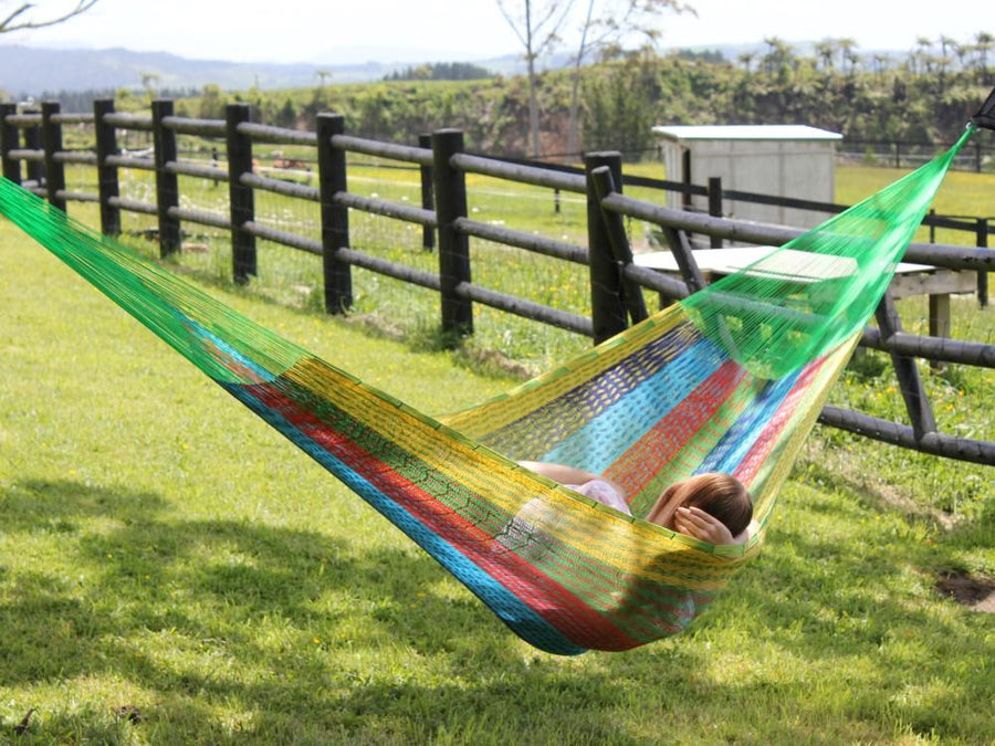 Mexican Tree Hung Hammock