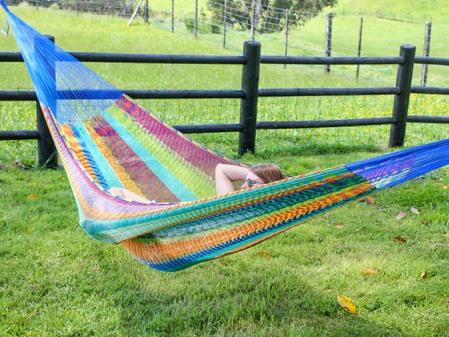Colourful Mexican Hammock