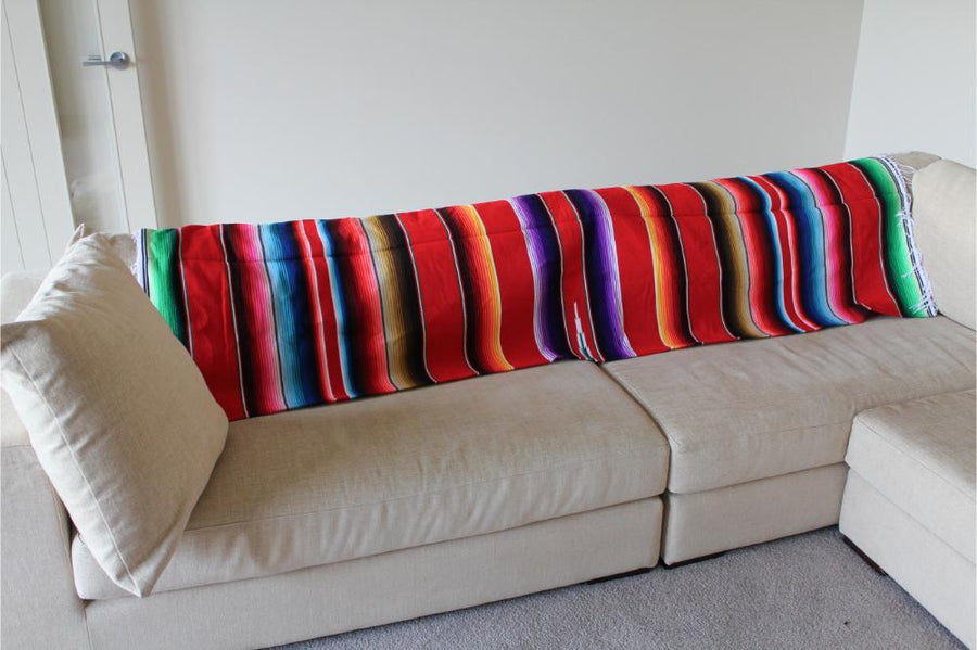 Lounge Blanket - Mexican Coloured