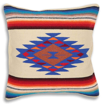 Sarape Style Mexican Pillow Cover
