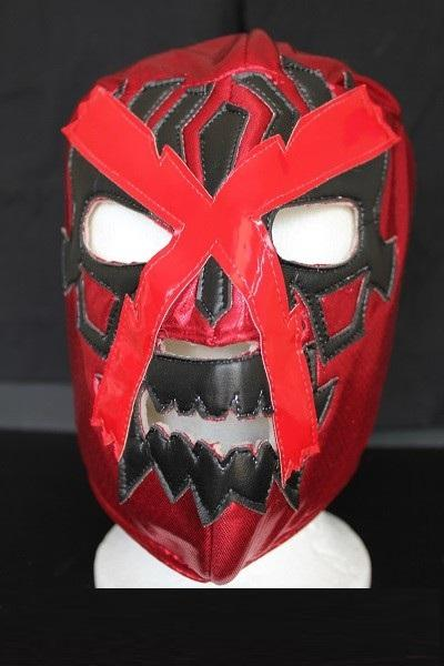 Red Doctor X Wrestling Mask - Lucha Libre
