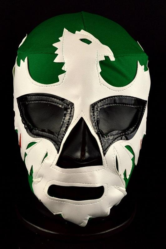 Green Mexican Wrestling Mask