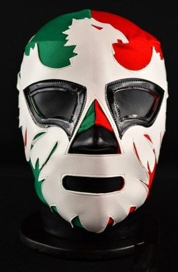 El Mexicano green and red luchador mask