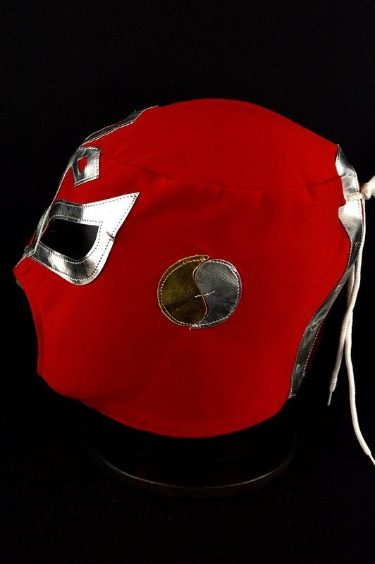 Red Mexican Wrestling Mask