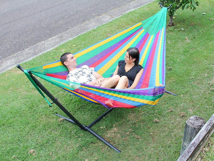 Home and garden portable hammock stand