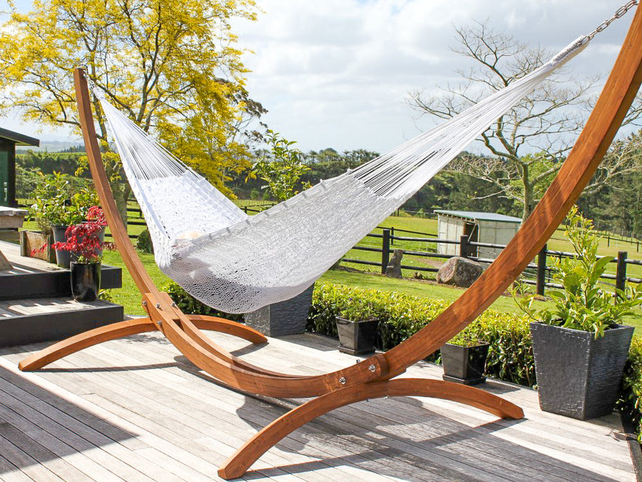 Weather Resistant Polyester Cord Hammock