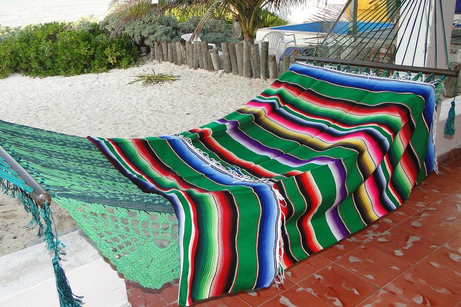 Mexican Blanket - Green