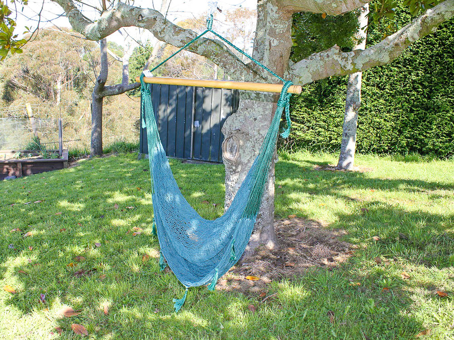 Hanging Chair NZ - Green Hammock Chair