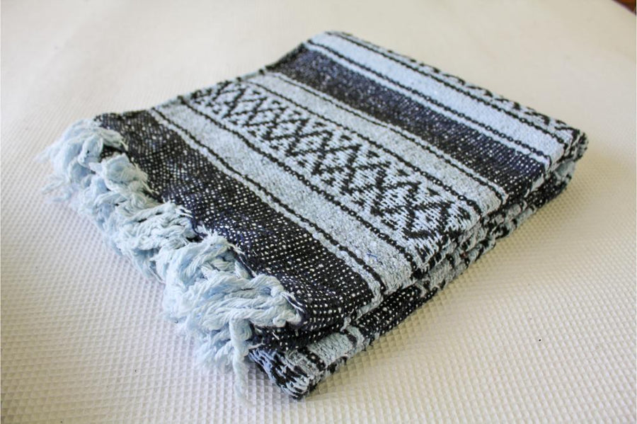 Mexican Striped Yoga Blankets