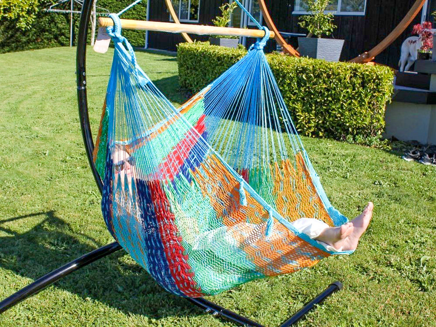 Handcrafted Cotton Chair Hammock