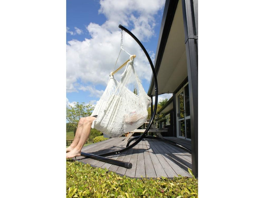 Polyester White Hammock Chair