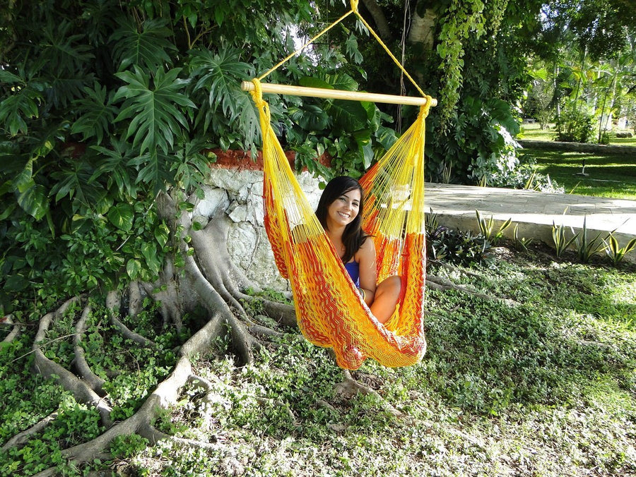 Hammock chair - Mexican fair trade handwoven