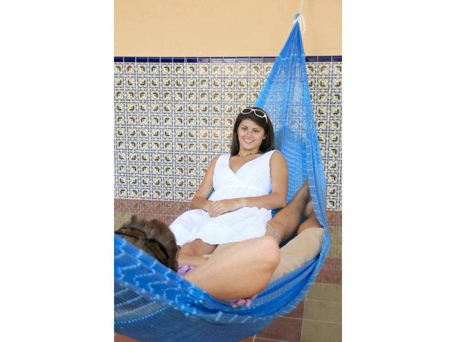 Two person size Mexican hammock