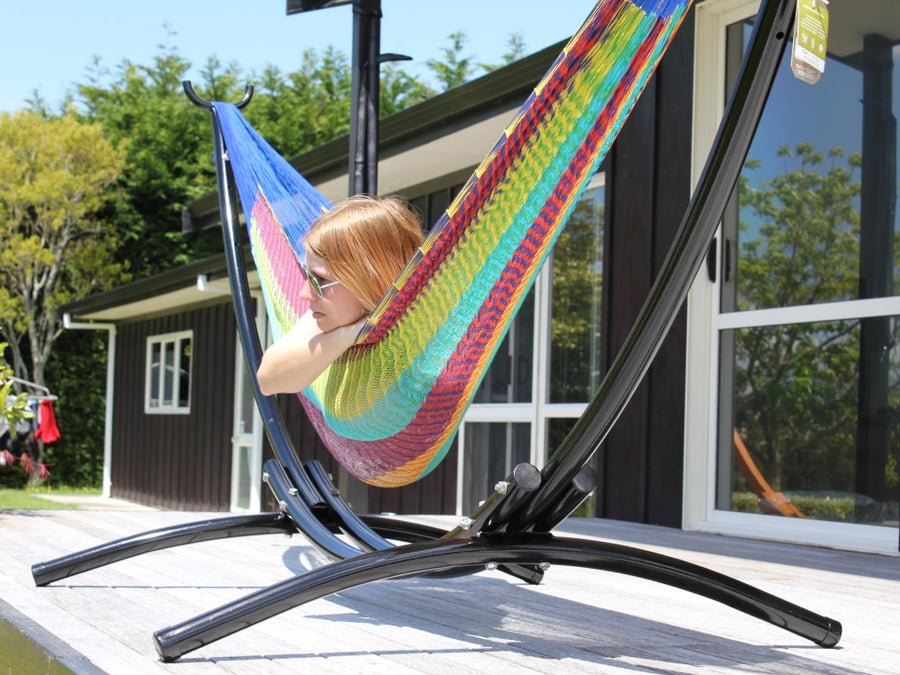 Hammock and Arc Metal Stand Package