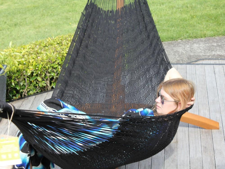 Large Black Hammock