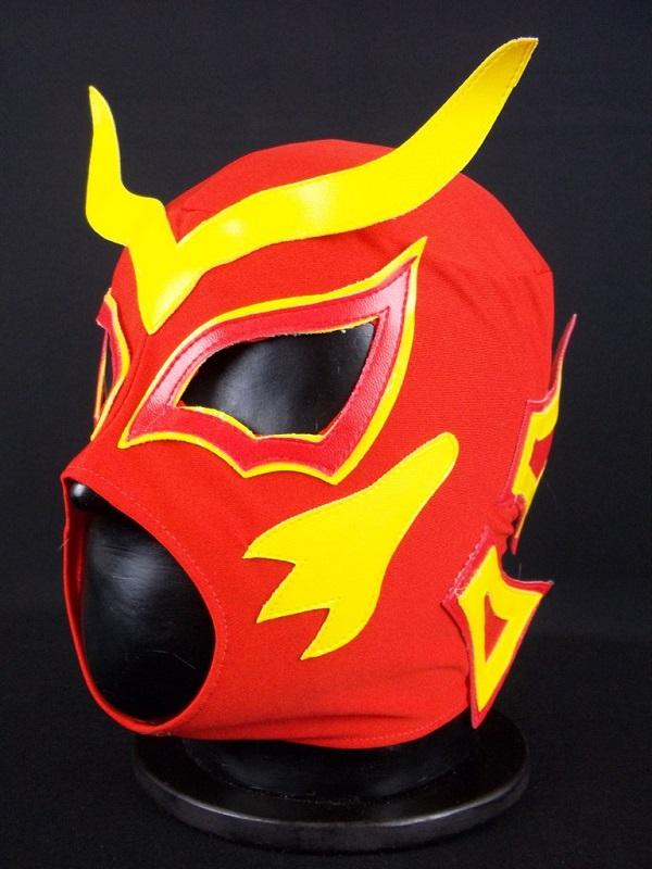 Lucha Libre Red Mask