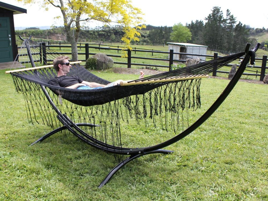 Black bar hammock