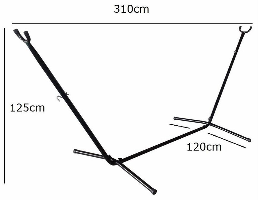 Portable Hammock Stand Dimensions
