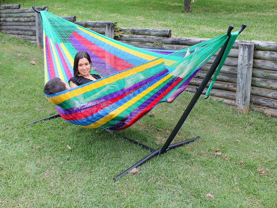 Two person hammock and stand