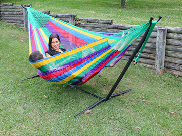 Metal Hammock Stand and Hammock Package